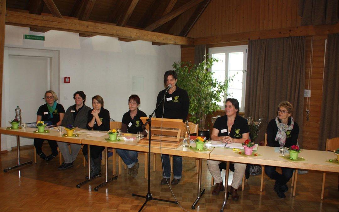 Hauptversammlung Landfrauenverein Hindelbank